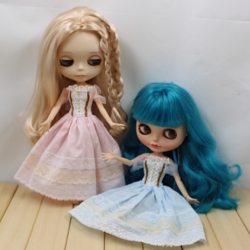 Neo Blythe Doll Wedding Dress With Rabbit Headdress 1