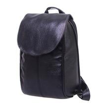 Высокое Качество кожи женщины рюкзак повседневная женщины сумки на ремне малый и большой Дизайн дорожные сумки mochila марка женщины школьные сумки
