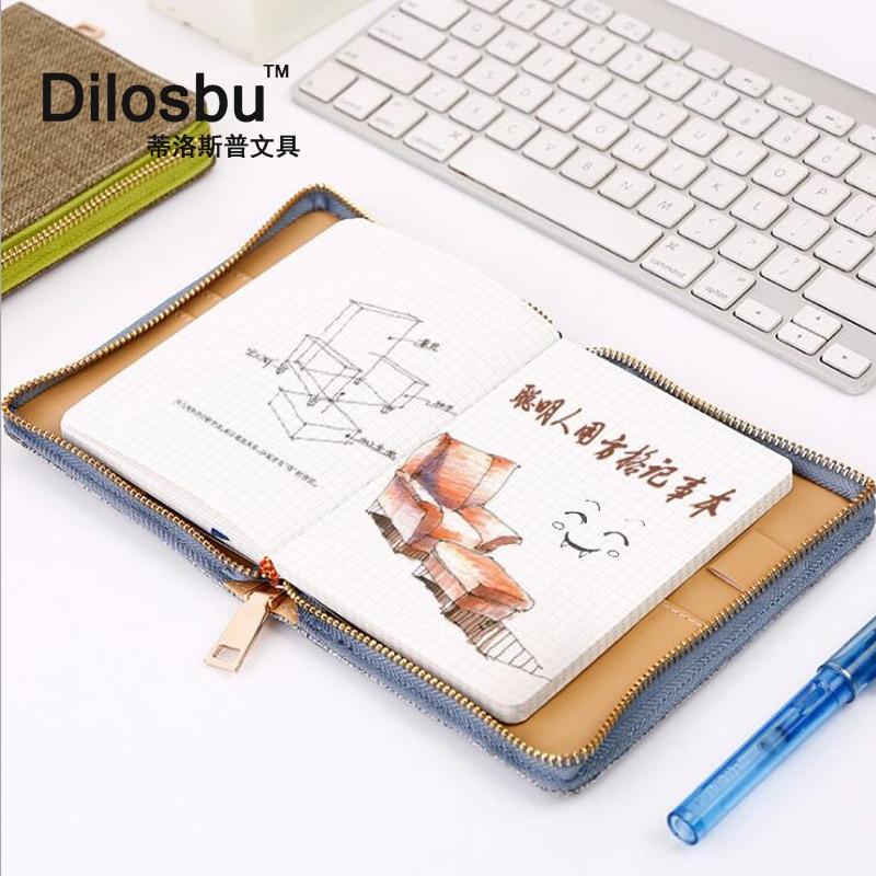 Dilosbu Zipper Bag A5 Doplněný plánovač Mesačný Týdenní 2018 - Bloky a záznamní knihy - Fotografie 2