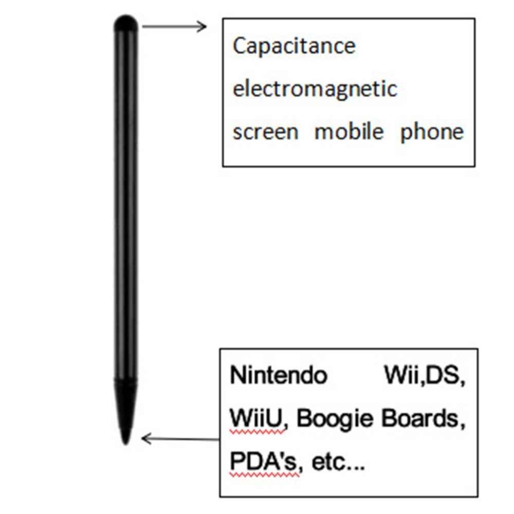البلاستيك اللمس شاشة المقاومة القلم اللوحي المقاومة القلم الهاتف المحمول المقاومة القلم المقاومة السعة ثنائي استخدام القلم