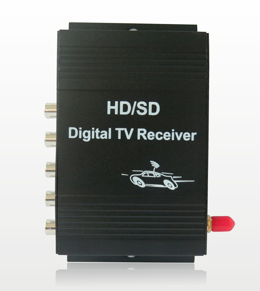 Krando Digital <font><b>Car</b></font> <font><b>TV</b></font> Tuner HD 1080P ISDB-T <font><b>Car</b></font> <font><b>TV</b></font> Receiver For Brazil South America chile Argentina Peru Japen image
