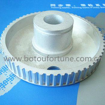 25 teeth L type aluminium timing belt pulley 10mm width 6pcs a pack