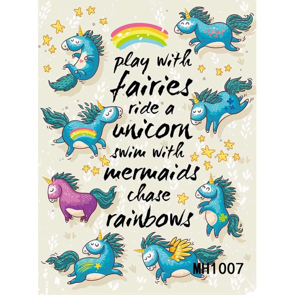 ปอนด์เล่นกับ Fairies Ride ยูนิคอร์นว่ายน้ำนางเงือกการไล่ล่าสายรุ้งเด็กปาร์ตี้การถ่ายภาพไวนิลภาพถ่ายพื้นหลังสตูดิโอฉากหลัง