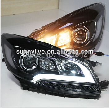for ford kuga escape led strip headlights 2013 2014 year. Black Bedroom Furniture Sets. Home Design Ideas