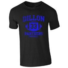 48c08a629 Make Custom T Shirts Regular Dillon American Footballer Panthers 33 Friday  Night Lights Men O-