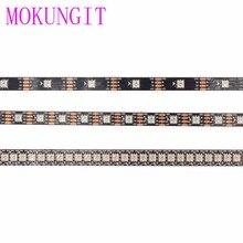 1M/5M WS2813 LED Strip 5050 RGB Addressable WS2812B Smart led pixel strip IP30/IP65/IP67 Black White PCB, 30/60/144 leds/m DC5V