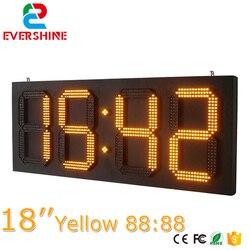 Czas i temperatura znaki 88.88 led znak 18 cal z Evershine-LED dobra cena