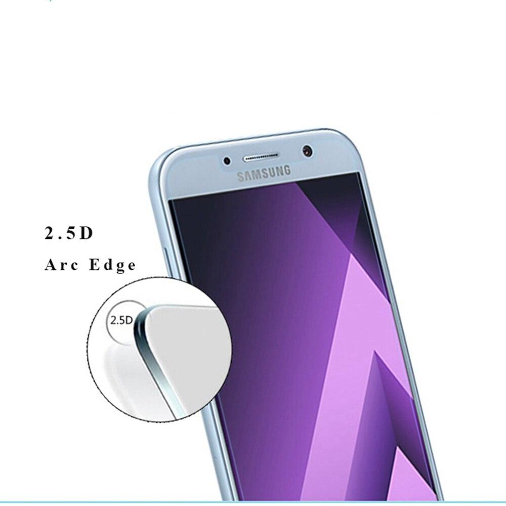2 Pcs 9H 2.5D Premium Tempered Glass For Samsung Galaxy A3 A5 A7 2016 A3 A5 A7 2017 A320 A520 NOTE 3 4 5 phone Screen Protector