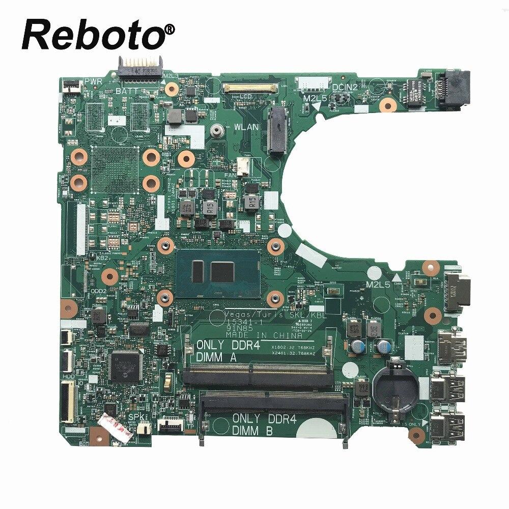 FOR Dell 3568 3468 Laptop Motherboard CN 02HKXD 02HKXD 2HKXD With SR2ZU i5 7200u DDR4 15341