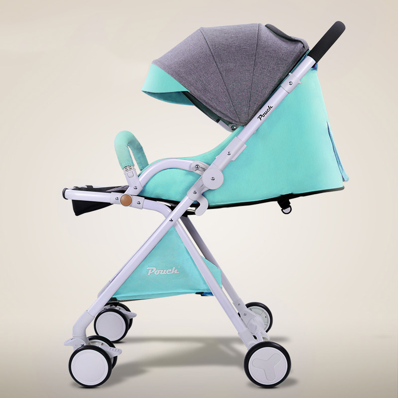 2018 European Baby stroller high-profile carriage two-way push can be lying and sit baby stroller can be on plane Umbrella car автошампунь grass active foam 12кг pink 113122 page 6