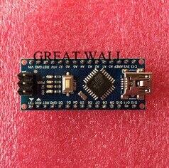 Freeshipping ! 20PCS Nano 3.0 controller compatible with for arduino nano CH340 USB driver NO CABLE