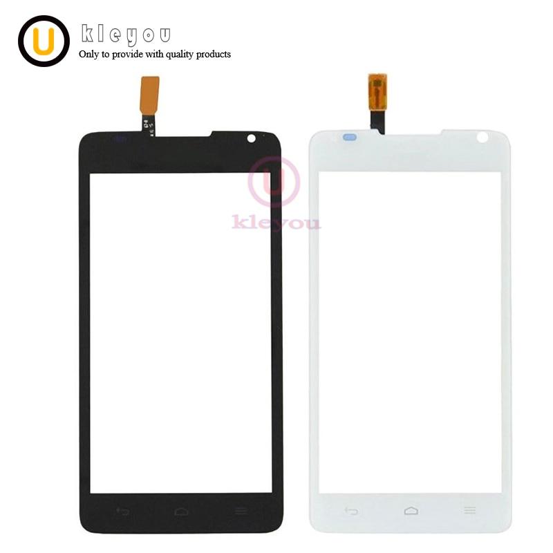 מסך מגע חדש עבור Huawei Ascend Y530 Y530-U00 חיישן טלפון נייד לוח מגע זכוכית לבנה שחור