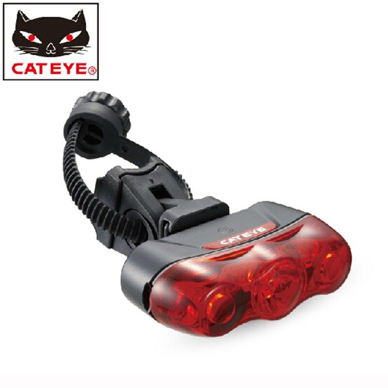 CATEYE Bike Bicycle Light Rear Light Led Taillight Lamp Flashlight-RAPID 3  Red Mountain Bike