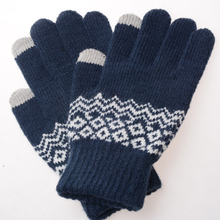 Fashion 7Styles Girl Winter Gloves Touch Screen Knit Mittens Warm For Female Thicker Pashmina