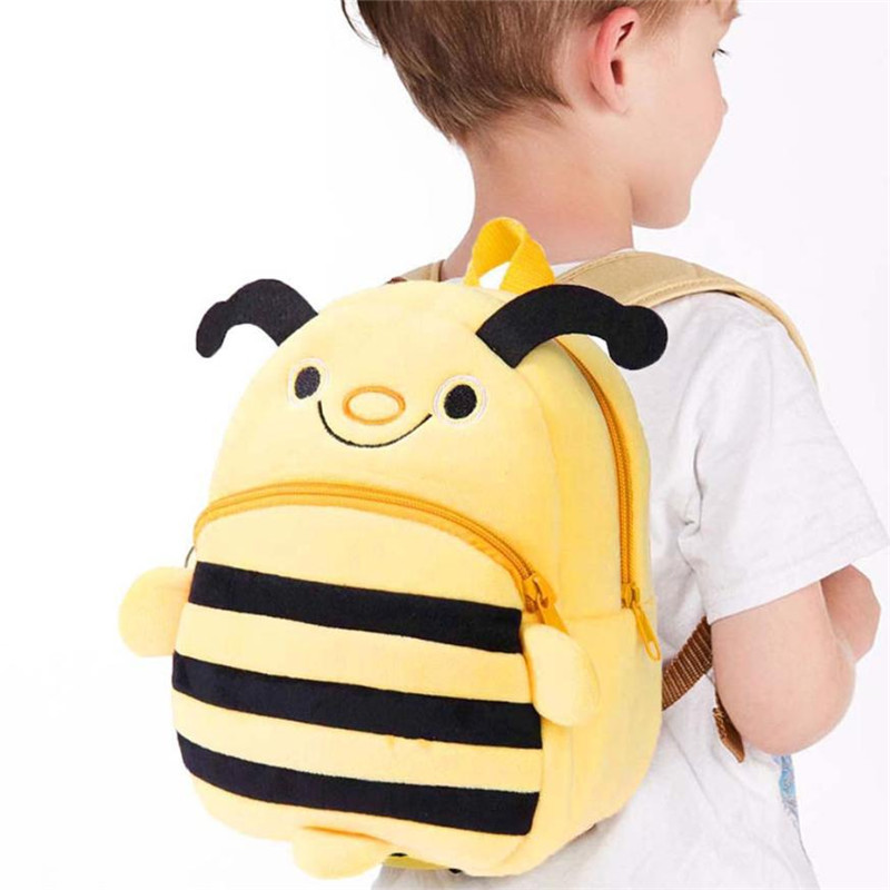 Baby Kids School Bags Toddler Backpack Pack Nursery Small Animal Shoulder Cartoon School Bag Backpack for Children Mochilas
