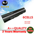 wholesale New laptop battery for Asus Eee PC 1201 1201HA 1201N 1201T UL20 UL20A UL20G UL20VT 90-NX62B2000Y  A32-UL20