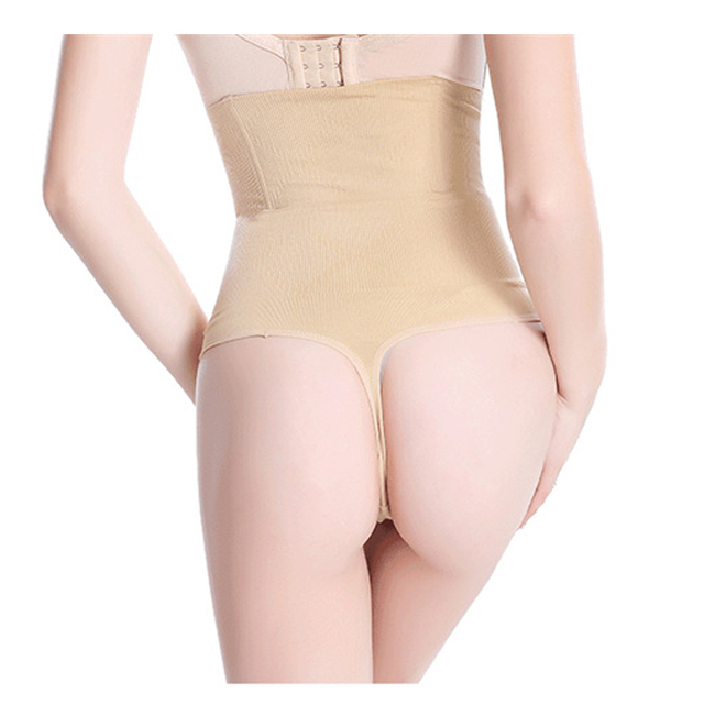 8ae374fdee High Waist Thong Butt Lifter Panties With Tummy Control Body Shaper  Shapewear Butt Lift Panties Thongs Underwear briefs Women
