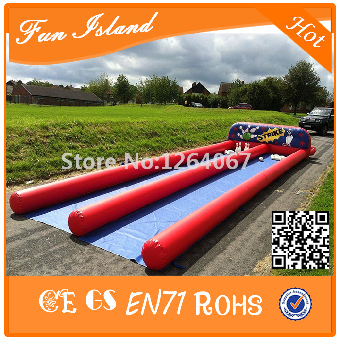 ᗑ】Free Shipping 35ft x 10ft Double Lane Inflatable Human