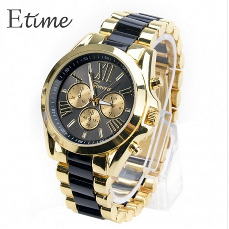 FANALA Watch Men 2018 Geneva Dress Watches Rose Gold Full Steel Analog Quartz Men Rhinestone Wrist Watches Montre Homme Watch цена 2017