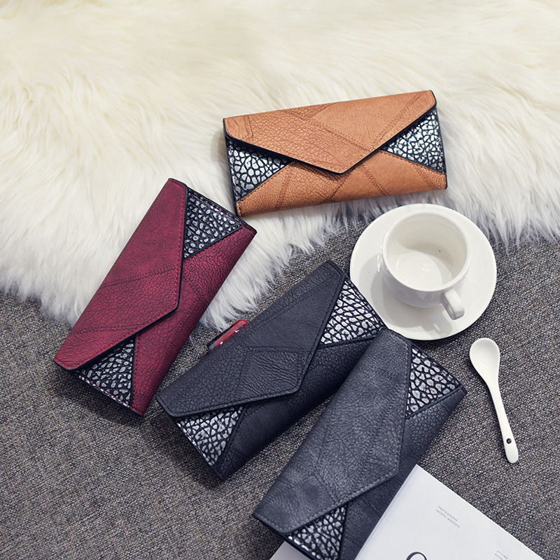 Trifold Leather Clutch Purse 5