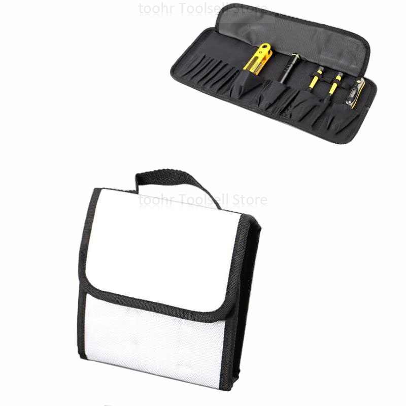 Multi-function Portable Tool Bag Reel Type 600D Nylon For IPhone Cellphone Tablet PC Repair Tool Storage Case Instrument Case