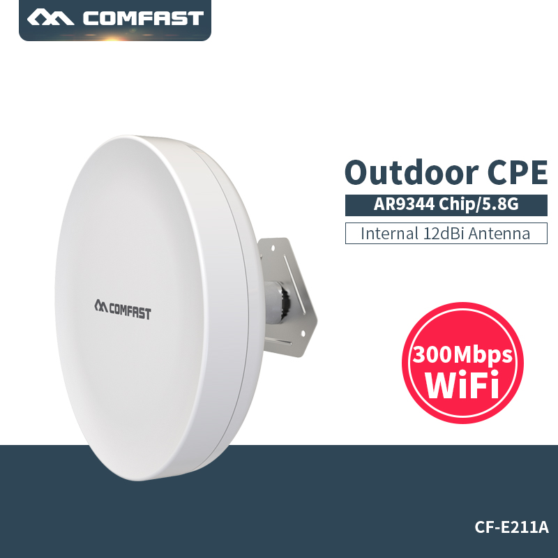 3-5KM Long Range Outdoor Router antenna WIFI CPE 5Ghz 300Mbps Wireless AP WIFI Access Point For Ip Camera Bridge Client Routers outdoor cpe 5 8g wifi router 200mw 1 3km 300mbps wireless access point cpe wifi router with 48v poe adapter wifi bridge cf e312a