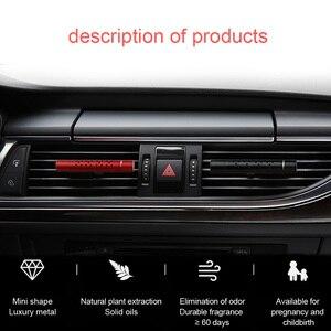 Image 4 - Carro interior ambientador tomada aromaterapia fragrância perfume carro sólido bálsamo ar condicionado duradouro fragrância