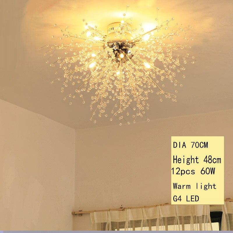 תקרת מנורת שן הארי בעיצוב מודרני ללובי