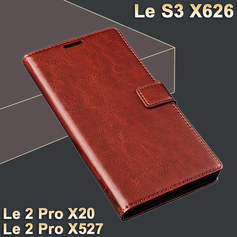 LeEco Le s3 X626 fodral läder S 3 Crazy hästfodral för LeEco le 2 - Reservdelar och tillbehör för mobiltelefoner