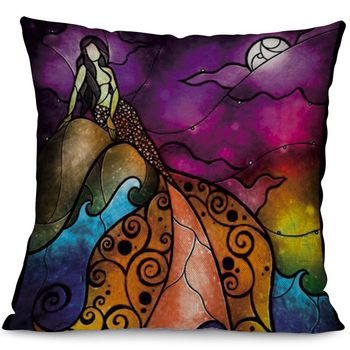 Colourful Mermaid cushion Cover