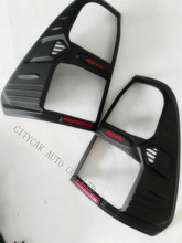 2PCS/SET 2015 2016 2017 HILUX REVO body kit cover accessories tail lamp cover fromt lights cover rear tail lights cover
