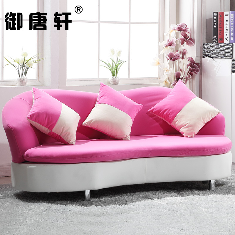 Korean garden fabric sofa modern minimalist washable small apartment ...