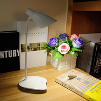 Rechargeable LED Desk Lamps Modern Table Lamps USB 3 Level Brightness 5V Luminaria White Flexible Student