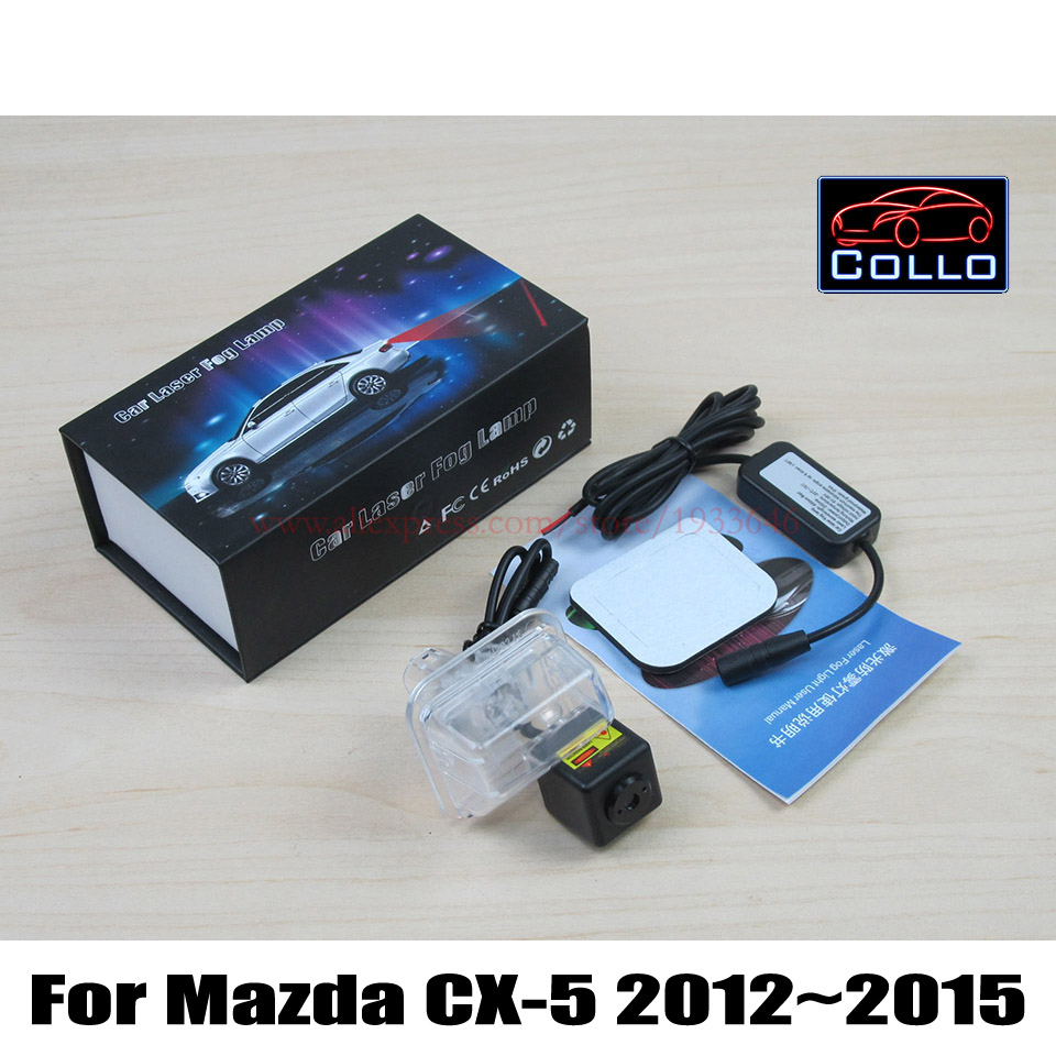 Newest Anti Collision Rear end Car Laser Fog Lamp For Mazda CX 5 CX 5 CX5
