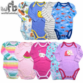 5pieces/lot long-Sleeved Baby Infant cartoon bodysuits for boys girls jumpsuits Clothing - DISCOUNT ITEM  25% OFF All Category