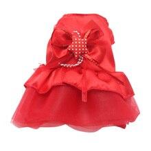 Летняя Одежда для питомцев, собачий мини-платье без рукавов, кружевное платье с юбкой собаки платья принцесса свадебные платья маленькая собака Костюмы