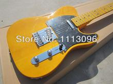 Free shipping wholsale guitarra TL guitarra/yellow color oem electric guitar/guitar in china