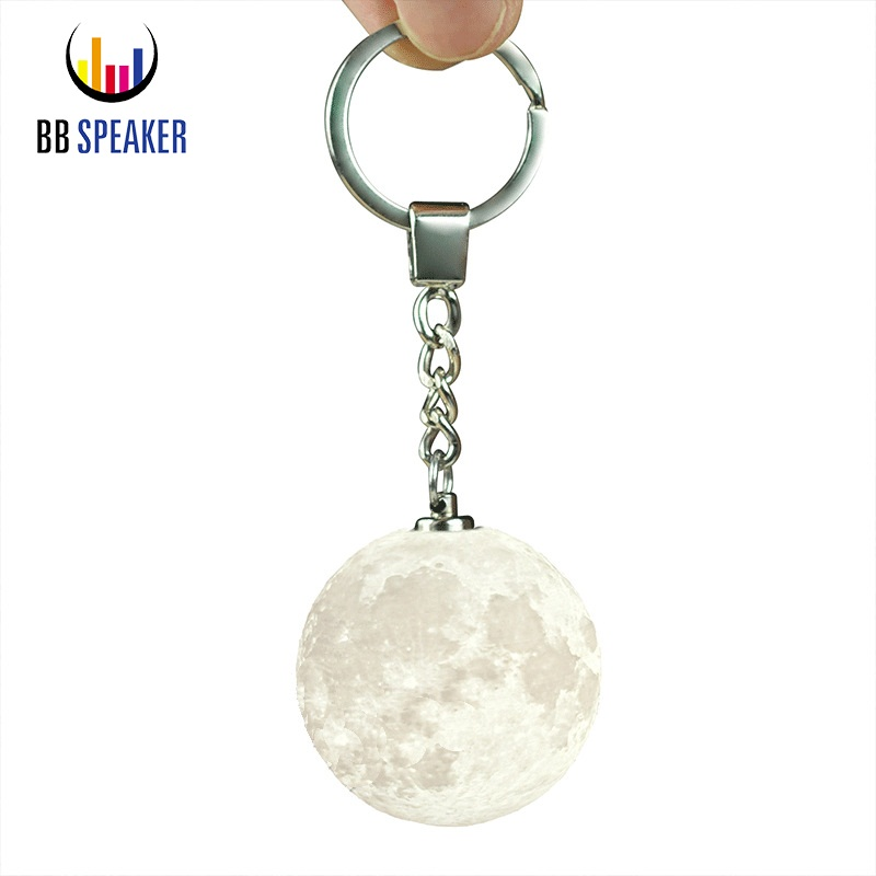 3D Print Moon Lamp Keychain Colorfuls Ch