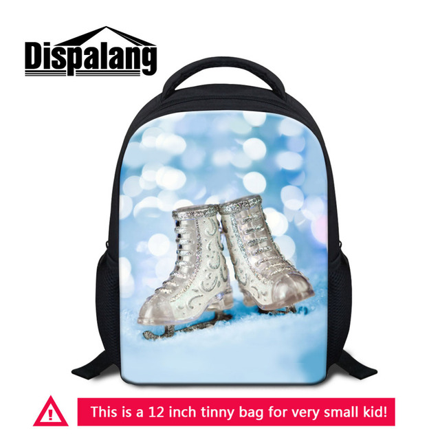 6a6d6ead9fa6 Dispalang Skates Pattern Kids Small Backpacks Kindergarten School Bags for  Teenager Girls Mini Shoulder Bag Mochila