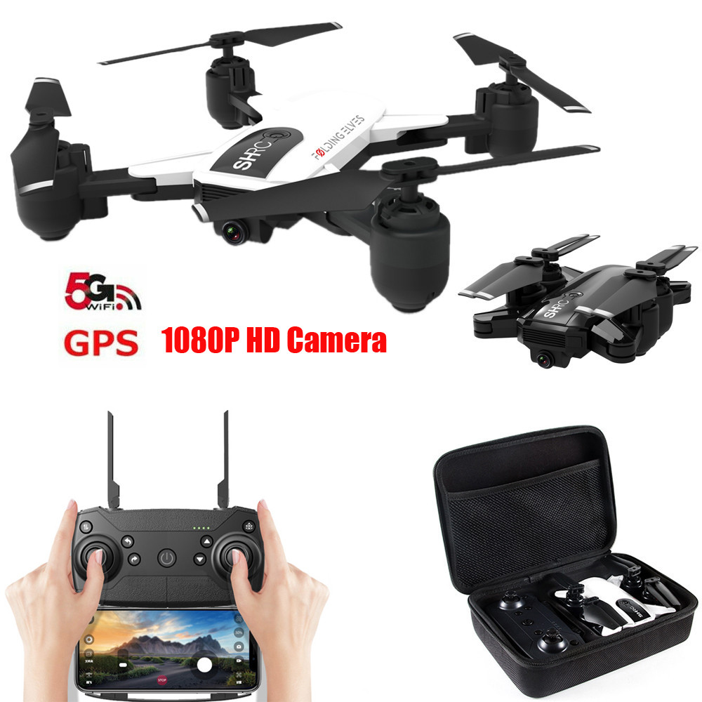 Drone X Pro 2.4g Selfi Wifi Fpv 1080p Camera Foldable Rc Quadcopter 4*batteries Camera Drones Radio Control & Control Line