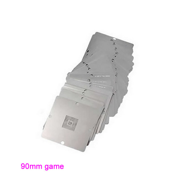 23 pcs/set BGA Reballing 90mm*90mm Game console Stencils for PS3 Xbox 360 Wii etc