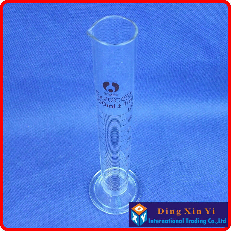 (4 pieces/lot)100ml glass graduated cylinder, measuring cylinder measuring graduates glass graduate(4 pieces/lot)100ml glass graduated cylinder, measuring cylinder measuring graduates glass graduate