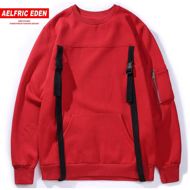 Comprar Aelfric 2018 Eden estilo Punk cintas de hombre de lana con capucha Hip  Hop Harajuku Jersey sudaderas con capucha de algodón sudadera KJ106 Online  ... a0a78b11b37