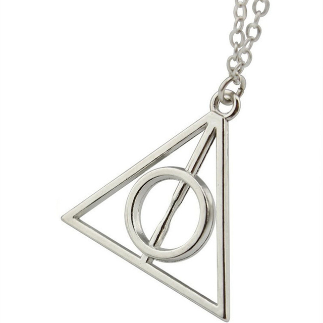 Hot Accessories Necklace Fashion Pendant Triangle Hot Movie Deathly