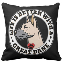 Mothuiyan Decor Gifts Life Is Better With A Dog