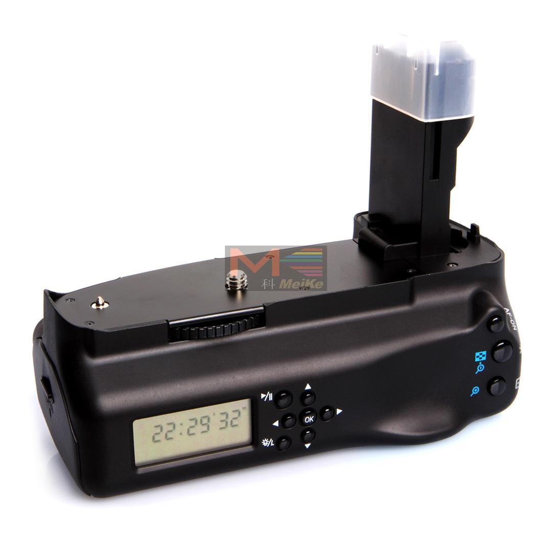 MeiKe MK 7DL LCD Battery Grip for Canon EOS 7D as BG E7