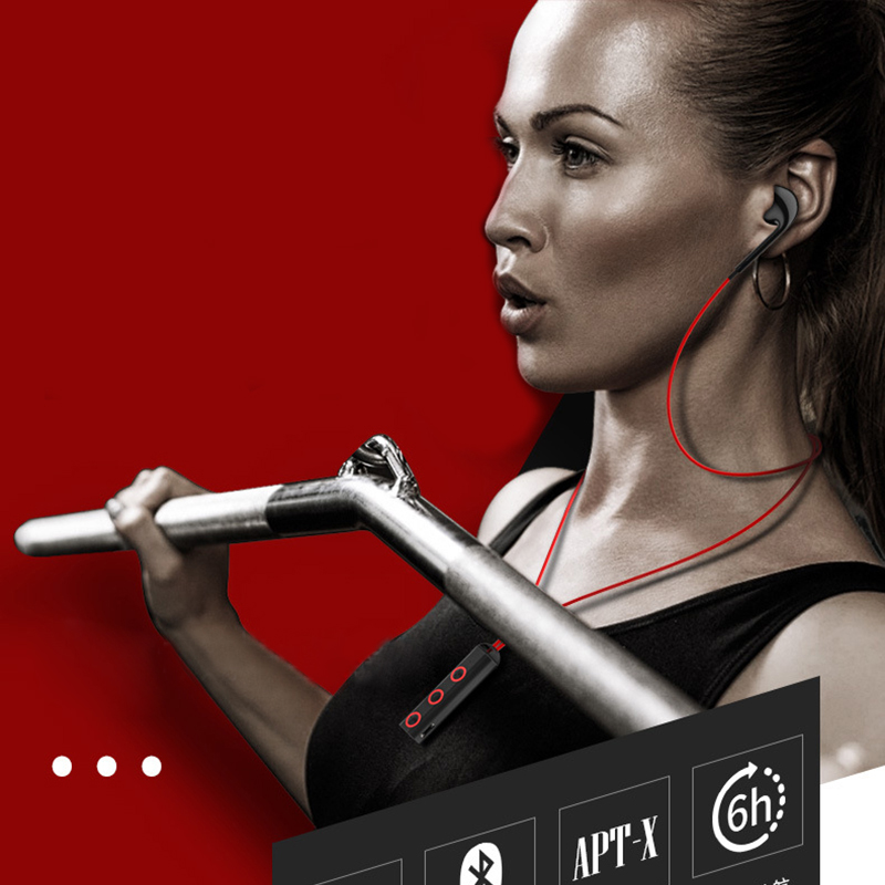 2018 rated sweatproof headphones bluetooth 4.1 wireless sports earphones running aptx earbuds stereo headset with MIC letike bluetooth headphones wireless sports earphones sweatproof headset magnetic aptx hifi 3d stereo with mic for iphone xiaomi