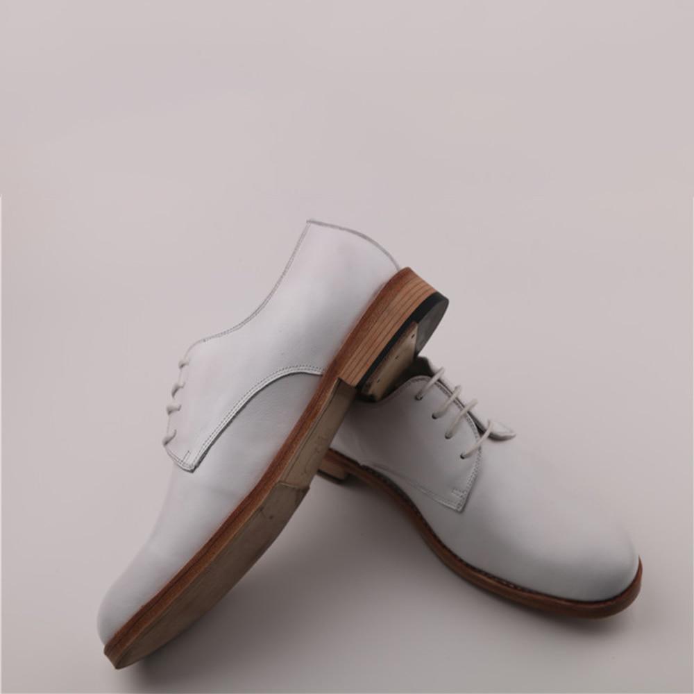 De Welted Sipriks Italiano Becerro Derby Boda Suela Zapatos Oxfords Lujo Hombre Importado Marca Para Blanco Cuero Goodyear Blanca RwpwqH