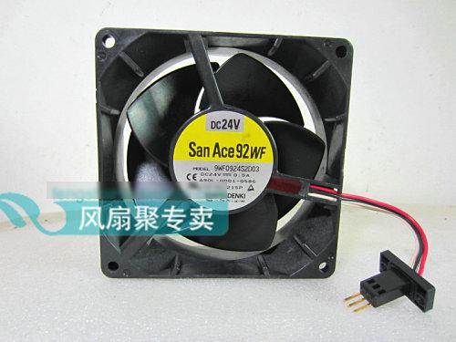 Original for FANUC A90L-0001-0586 Sanyo 9WF0924S2D03 9CM 24V 0.5A waterproof cooling fan original cooling fan a90l 0001 0507 a 9wf0424f6d03