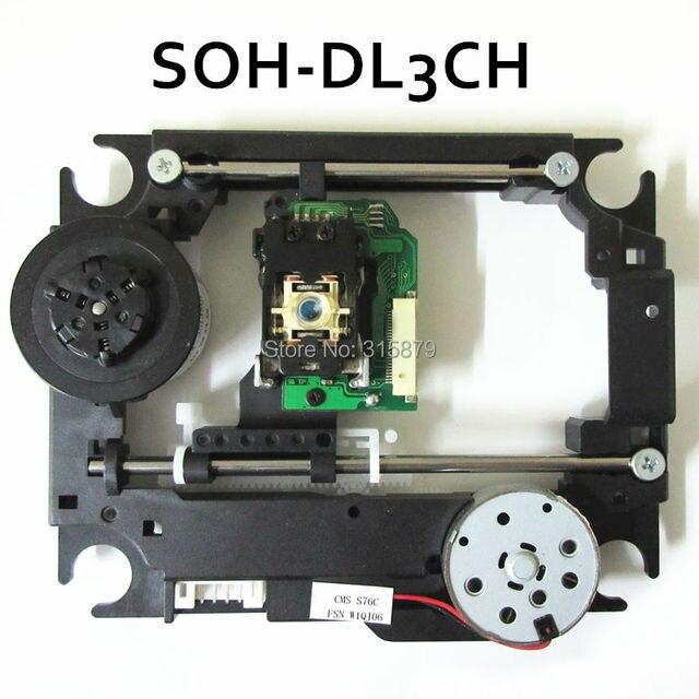 מקורי SOH DL3CH DL3CH DL3 עבור SAMSUNG DVD איסוף לייזר עדשה עם מנגנון CMS S76